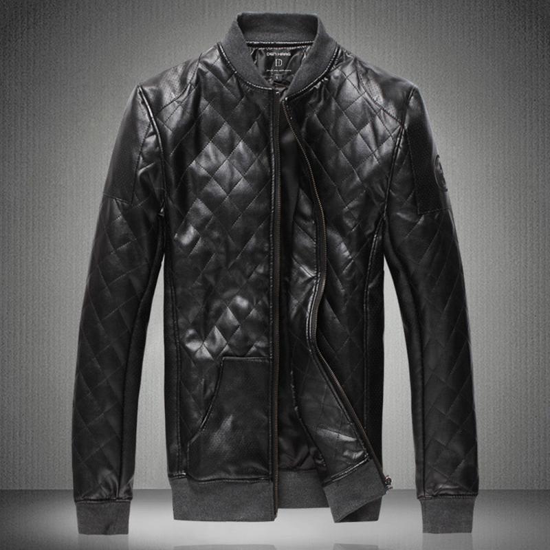 Кожаные Куртки Весна Осень Мужские Купить