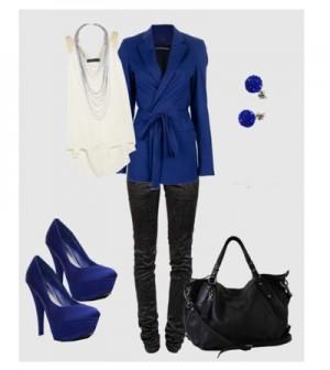 Черный-темно синий