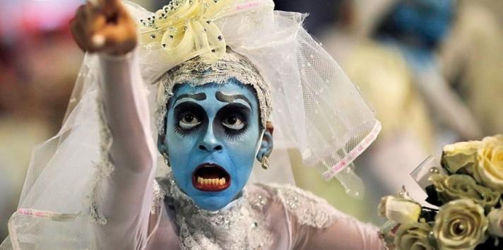 Бразильский карнавал. Знойные красотки самбы