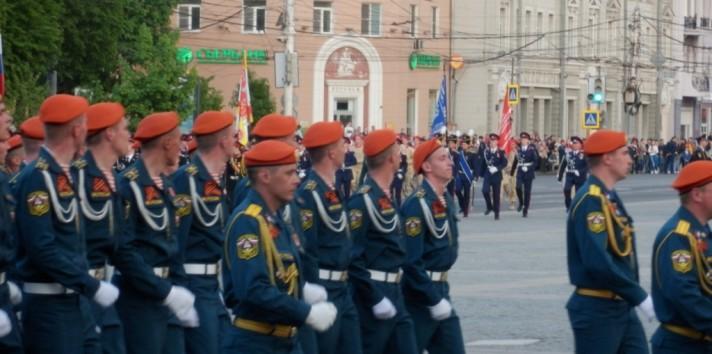 Парад победы 9 мая 2017