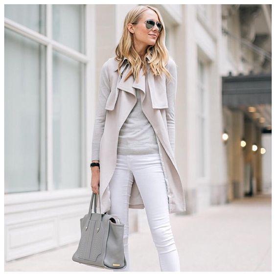 Белые джинсы, с чем носить?