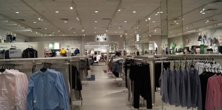 Экскурсия по магазину H&M