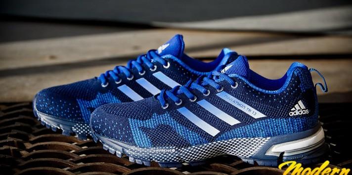 Adidas marathon TR 13 Flyknit кроссовки тест драйв