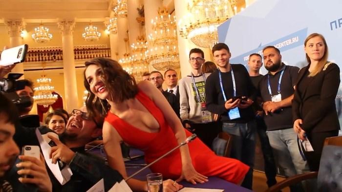 Наталья Орейро на ЧМ 2018